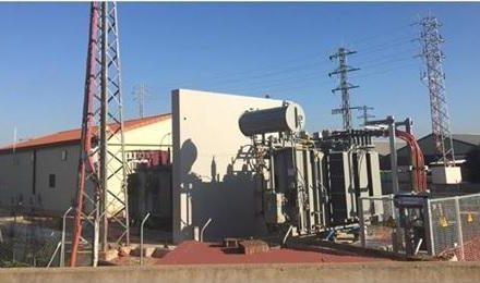 Coria ultima los trabajos de remodelación y ampliación de la nueva subestación eléctrica