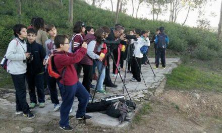 Escolares y miembros de Aspace disfrutaron de las primeras citas de las Jornadas Moraleja Vuela