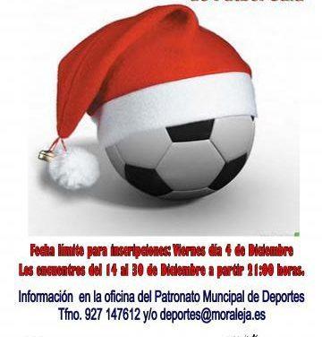 Moraleja acogerá una nueva edición del Trofeo Senior de Navidad de Fútbol Sala