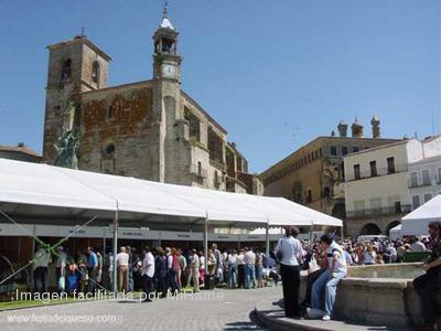 La XXIII edición de la Feria del Queso de Trujillo cierra con 120.000 visitantes durante cuatro días