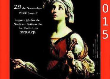 La Coral Cauriense ofrece este domingo un concierto en Moraleja en honor a Santa Cecilia