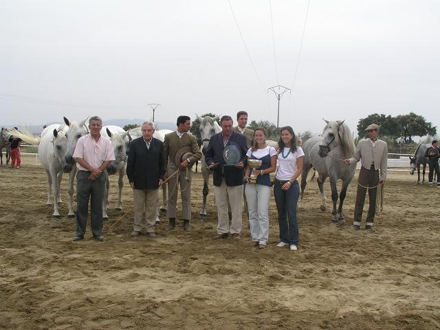 La ganadería Hermanos Vara Muñoz Casillas, de Olivenza,  vence en la XI Feria del Caballo de Torrejoncillo