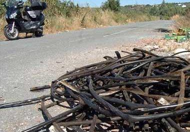 La Policía local de Plasencia ha detenido a un individuo por los robos de cables en el alumbrado de los Cachones