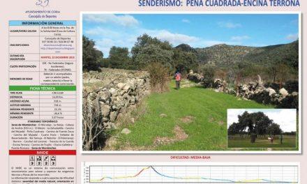 Coria cierra su ciclo de actividades senderistas con la ruta por el entorno de Zarza de Montánchez