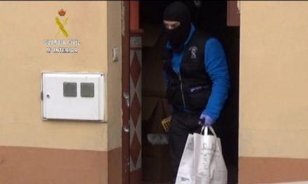 La Guardia Civil desarticula un clan familiar dedicado a la venta de drogas en Malpartida de Plasencia