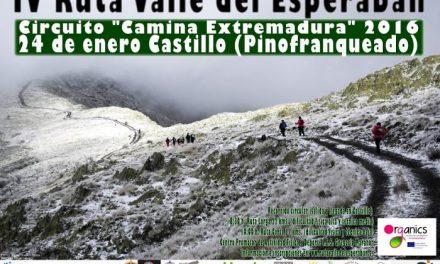 """El I.E.S. Gregorio Marañón de Caminomorisco organiza la IV Ruta """"Valle del Esperabán"""""""