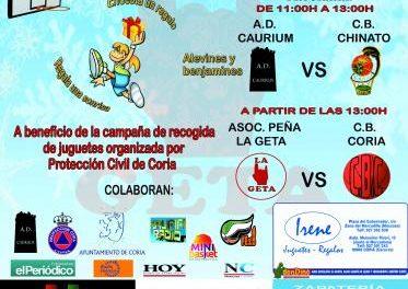 """La peña """"La Geta"""" de Coria celebrará este domingo el VII Partido Benéfico """"Una entrada un juguete"""""""