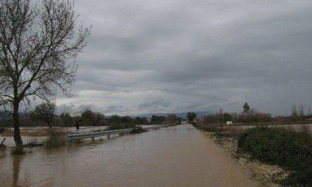 El 112 mantine la alerta amarilla por lluvia y viento en el norte de la provincia de Cáceres durante este lunes