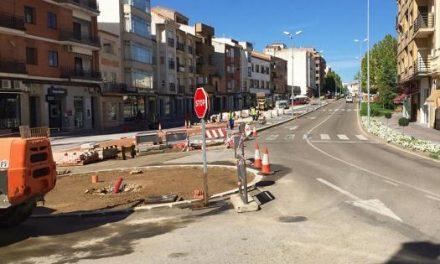Continúan los trabajos de mejora de la travesía de Coria con más de 770.000 euros de inversión
