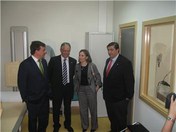 El nuevo centro de salud de Castuera, en el que se han invertido 2.800.000 euros, atenderá a 6.400 usuarios