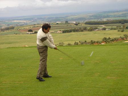 Turoperadores europeos visitan la región para conocer Extremadura como destino para practicar el golf