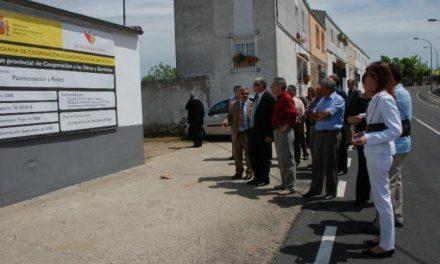 La Diputación de Cáceres invierte 80.000 euros en el arreglo de la circunvalación de Santibáñez el Bajo