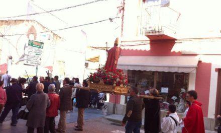 Cientos de personas disfrutan de la procesión y la misa tradicional en honor a San Blas en Moraleja