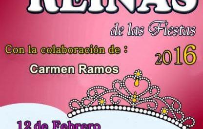 Rincón del Obispo ultima los preparativos para celebrar este viernes la Gala Reinas de las Fiestas 2016
