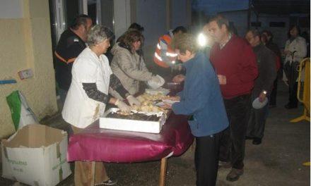 El Centro de Exposiciones de Moraleja acoge numeroso público en el tradicional entierro de la sardina