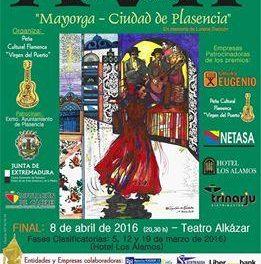 El Concurso de Cante Flamenco Mayorga-Ciudad de Plasencia repartirá cerca de 7.000 euros en premios