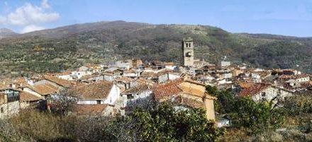 El municipio de Garganta la Olla registra este lunes rachas de viento de hasta 105 kilómetros por hora