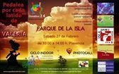 """El parque de La Isla de Plasencia acogerá este sábado la iniciativa solidaria """"Pedalea por Valeria"""""""