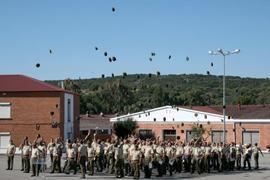 Cerca de 600 soldados finalizarán este viernes su  periodo de formación en el CEFOT de Cáceres