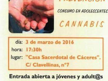 La Diócesis de Coria-Cáceres celebrará este jueves unas jornadas sobre el consumo de cannabis entre los jóvenes