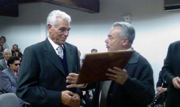 Guijo de Granadilla homenajea al deportista paralímpico Faustino Blanco natural de la localidad