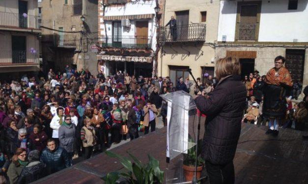 Diputación destaca el papel de la mujer en el mundo rural durante los actos celebrados en Sierra de Gata