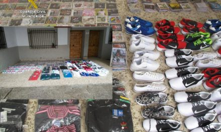 La Guardia Civil se incauta de más de 700 artículos falsificados en un mercadillo de Pinofranqueado