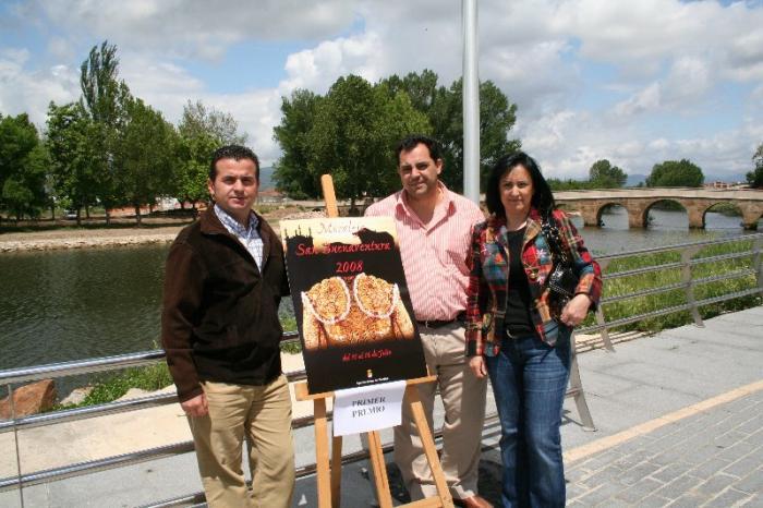 Un vecino de Moraleja, Selum de Plasencia, gana el concurso del cartel de San Buenaventura 2008