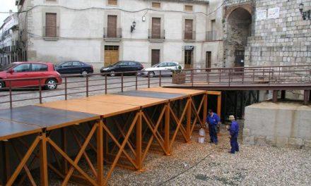 El Ayuntamiento de Coria colocará asientos con capacidad para 300 personas en La Cava durante San Juan