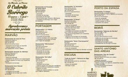 El concejo luso de Marvão celebrará a partir de este sábado la Quincena del Cabrito y el Borrego