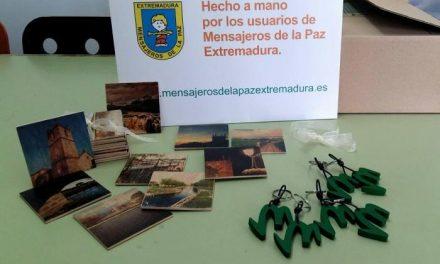 La Oficina de Turismo de Moraleja pone en venta productos elaborados por Mensajeros de la Paz