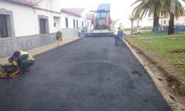 Coria destina 30.000 euros a mejorar el asfaltado de Puebla de Argeme y Rincón del Obispo