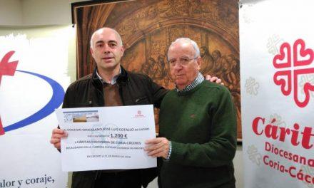 Cáritas Diocesana de Coria-Cáceres destacan una disminución en el número de personas que solicitan ayuda