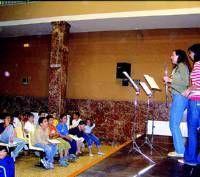 El conservatorio de música de Don Benito presentó ayer su web para difundir sus actividades programadas