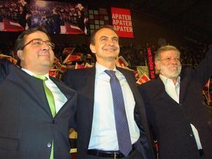 Zapatero intervendrá el 25 de mayo en un acto público en Alange al que se espera que acudan 15.000 personas