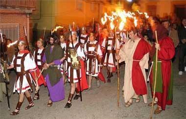 Torrecilla de los Ángeles celebra la representación de la Pasión de Cristo con 150 actores y 5.000 visitantes