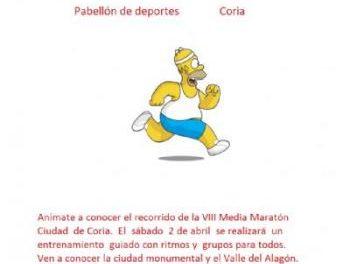 Un club deportivo de Coria organiza este sábado un entrenamiento guiado para la media maratón de la ciudad