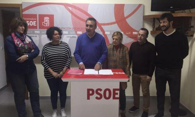 El PSOE de Coria muestra su discrepancia con el lugar elegido para la construcción del pabellón
