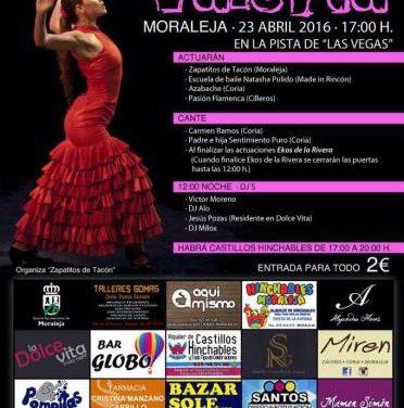Un grupo flamenco de Moraleja organiza un festival benéfico a favor de una menor de Carcaboso