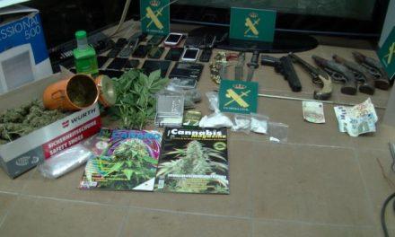 La Guardia Civil desarticula un clan familiar dedicado a la venta de drogas en el Valle del Alagón
