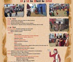 Portezuelo celebrará los días 15 y 16 el XII Festival Medieval con animación de calle y degustaciones