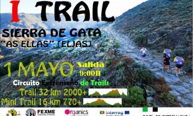 """El I Trail Sierra de Gata """"As Ellas"""" se celebrará el próximo 1 de mayo con dos pruebas deportivas"""