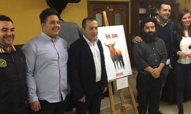 El cauriense Carlos Moyano se proclama ganador del certamen de carteles de las fiestas de San Juan