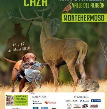 """Montehermoso celebrará este fin de semana la I Feria de la Caza y la Naturaleza """"Valle del Alagón"""""""