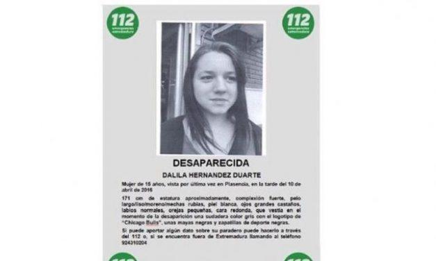 El Centro 112 solicita la colaboración ciudadana para localizar a una menor desaparecida en Plasencia