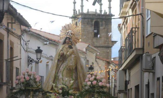 La Virgen de la Vega llegará este domingo a Moraleja acompañada por los vecinos del municipio