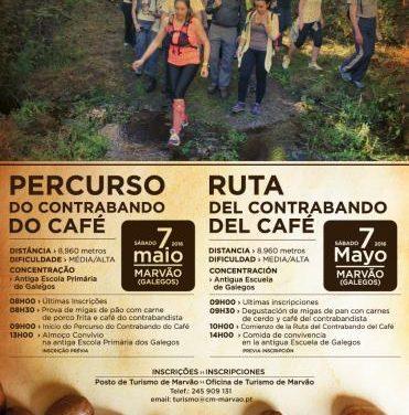 Marvão celebrará el 7 de mayo la Ruta del Contrabando del Café por la frontera hispano-lusa