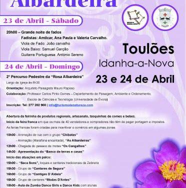 El concejo luso de Idanha-a-Nova se prepara para acoger los días 23 y 24 la I Fiesta de la Rosa Albardeira