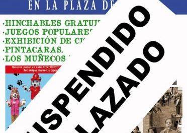 El Barrio de Santiago de Coria suspende los actos programados para el fin de semana por las lluvias