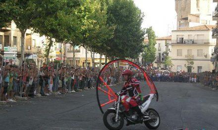 Un total de 350 aficionados a las motos han participado este fin de semana en una concentración en Coria